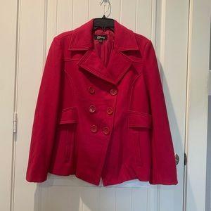 GUESS women's pea coat
